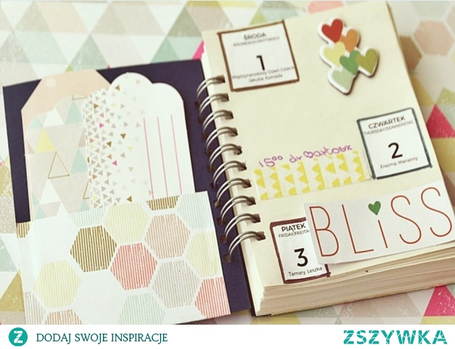Notes, planer handmade.