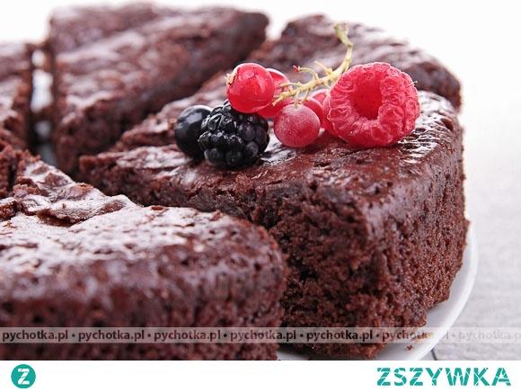 Placek czekoladowy Patrycji