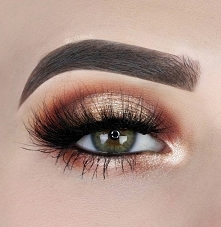 #makijaż #brokat #makeup #brwi #oczy #makijazoczu #studniówka #wesele #bal #m...