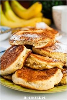 Bananowe placki z 3 składników