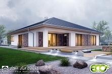Pogodna to projekt optymalnego domu jednorodzinnego dla 3-4osobowej rodziny. ...