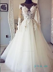 seksowna koronkowa iluzja # suknia balowa # suknie ślubne