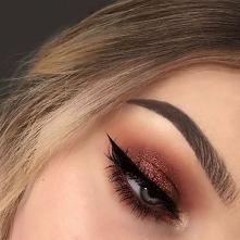#makijaż #makijazwieczorowy #studniówka #prom #wesele #brokat #brwi #makeup #...