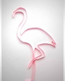 Flaming :-) #flaming #donflamingo #flamingo #wakacje #quilling #paper #paperart #handmade #rekodzielo #pasja #pink #diy #kartka
