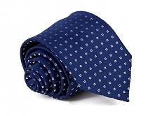 Krawat Męski Elegancki nieb...