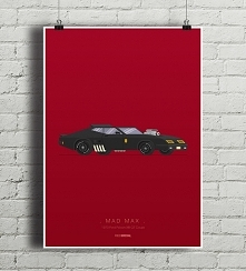 Mad Max - Ford Falcon - plakat