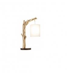 Lampa stołowa Roots drewno ...
