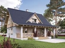 Projekt domu MALINOWY - tra...