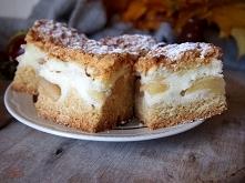 Pyszne kruche ciasto z jabł...