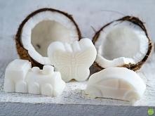 Białe mydło naturalne w wzory dla dzieci