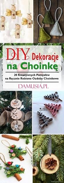 DIY Dekoracje na Choinkę – TOP 20 Kreatywnych Pomysłów na Ręcznie Robione Ozd...