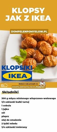 Jak zrobić klopsy jak z IKE...