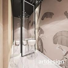 Elegancka łazienka z dekora...