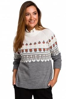 Sweter ze wzorem - model 2 ...