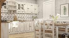 drewniane meble kuchenne w ...