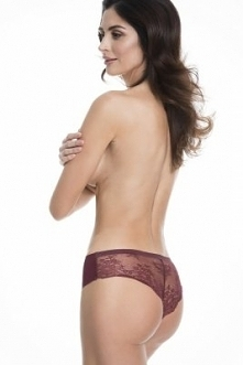Julimex Tanga Panty Bordowe...