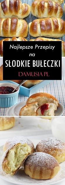 Przepisy na Słodkie Bułeczk...