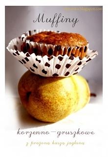Korzenne muffiny gruszkowe ...
