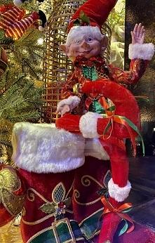 Elf wita i żegna z kolorowe...