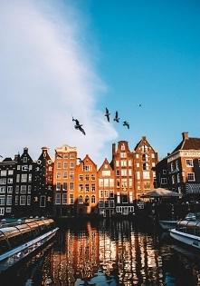 Puzzle krajobrazy, Holandia, Amsterdam