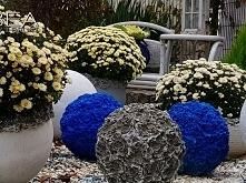 Jesienne dekoracje do ogrodu