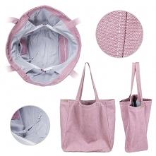 Big Lazy bag torba różowa n...