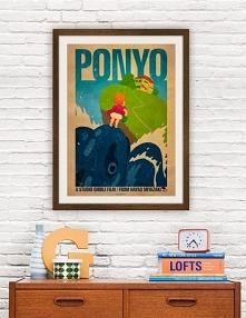 Ponyo - Ghibli - plakat