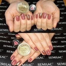 Semilac 005, Neonail Aurora...