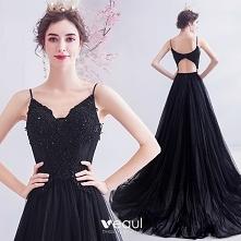 Piękne Czarne Sukienki Na B...
