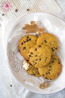Ciasteczka dyniowe z czekoladą - Najlepsze przepisy