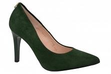 Czółenka zielone SALA 9150 ...