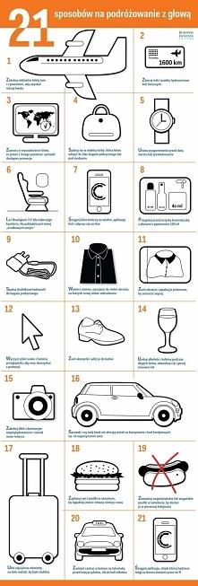 21 sposobów na podrózowanie