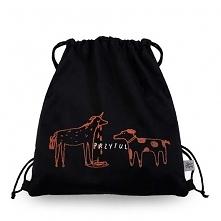 Plecak | PRZYTUL  - worek bawełniany workoplecak