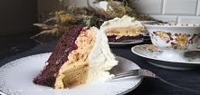 Pyszny tort kajakowy z Amaretto /blog kreatywna chwila.pl/