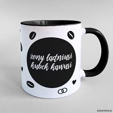 Żony ładniusi kubek kawusi