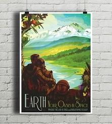 Earth - vintage plakat