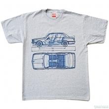 koszulka BMW 3 GRAY tshirt