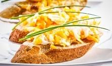Bagietka z jajecznicą