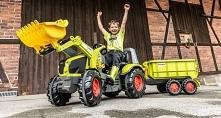 Traktorki dla dzieci w zaba...