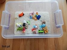 Wspaniała zabawka z ryżu i ...