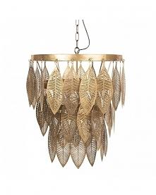 Lampa Wisząca Metalowa Leaves