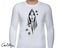 Kwiaty - męska koszulka z d...