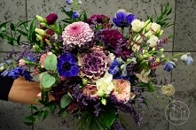 Fiolet, róż i chaber