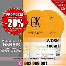 Promocja Global Keratin GKhair wosk do wlosow 100ml shaping wax sklep warszaw...