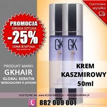Promocja Global Keratin GKhair krem kaszmirowy 50ml cashmere cram sklep warsz...