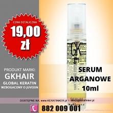 Global Keratin GKhair cena 19 zł serum arganowe 10ml argan oil sklep warszawa...