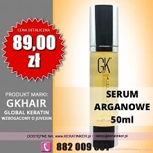 Global Keratin GKhair cena 89zł serum arganowe 50ml argan oil sklep warszawa ...