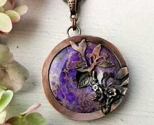 Przepiękny fioletowy jaspis...