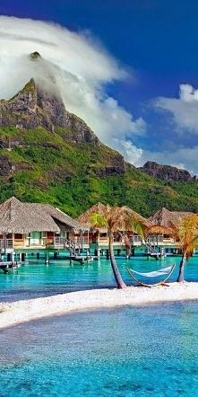 Wyspa na Oceanie Spokojnym,...
