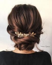#fryzura #upięcie #modadamska #moda #styl #wesele #ślub #studniówka #impreza #hairstyle #spinka